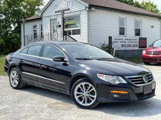 Used 2012 Volkswagen Passat CC No-Accidents Sportline Leather Sunroof Bluetooth 2Tone Inter for sale in Sutton, ON