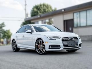 Used 2018 Audi S4 TECHNIK |DRIVING ASSIST |VIRTUAL COCKPIT|RED INTERIOR for sale in North York, ON