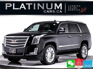 Used 2015 Cadillac Escalade Platinum, 7 PASS, NAV, CAM, REAR DVD, MASSAGE, BT for sale in Toronto, ON