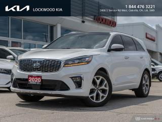 Used 2020 Kia Sorento SX V6 AWD - ONE OWNER | CLEAN CARFAX for sale in Oakville, ON