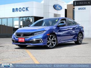 Used 2019 Honda Civic Sedan Touring for sale in Niagara Falls, ON