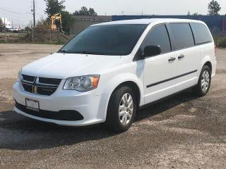Used 2016 Dodge Grand Caravan Canada Value Package|Bluetooth|Clean Carfax| for sale in Bolton, ON