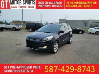 Used 2014 Ford Escape Titanium   |  $0 DOWN - EVERYONE APPROVED! for sale in Calgary, AB