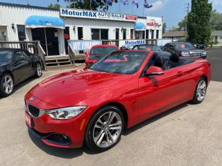 Used 2016 BMW 4 Series 428i xDrive-Convertible- ACCIDENT FREE-We Finance for sale in Stoney Creek, ON