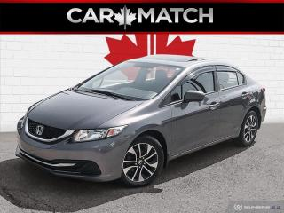 Used 2014 Honda Civic EX / SUNROOF / AC / ALLOY'S / for sale in Cambridge, ON