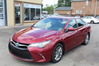 Used 2017 Toyota Camry SE Hybrid for sale in Brampton, ON
