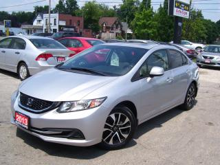 Used 2013 Honda Civic EX,BLUETOOTH,BACK UP CAMERA,SUN ROOF,CERTIFIED for sale in Kitchener, ON