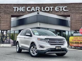 Used 2016 Ford Edge SEL AWD!! PANORAMIC ROOF!!! NAVIGATION!! LEATHER!!  BACK-UP CAM!! HEATED SEATS!! for sale in Sudbury, ON