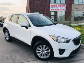 Used 2013 Mazda CX-5 GS - B.UP CAM~B.T.~PWR HTD SEATS~SUNROOF~B.S.M. for sale in Rexdale, ON