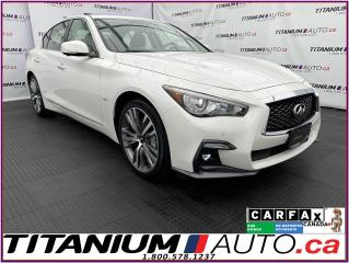 Used 2018 Infiniti Q50 2.99% FINANCING Sport 3.0T+AWD+360 Camera+GPS+Bose for sale in London, ON