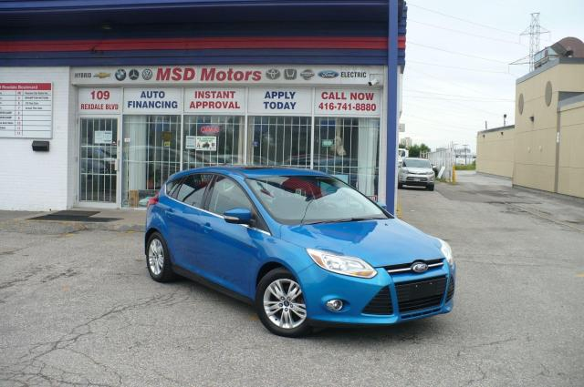 2012 Ford Focus SEL  LEATHER/ROOF