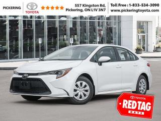 New 2021 Toyota Corolla L CVT for sale in Pickering, ON