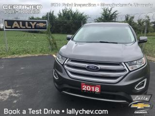Used 2018 Ford Edge SEL**FWD**BACK UP CAMERA**BLUETOOTH**TOUCH SCREEN* for sale in Tilbury, ON