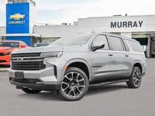New 2021 Chevrolet Suburban RST for sale in Winnipeg, MB