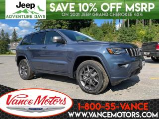 New 2021 Jeep Grand Cherokee 80th Anniversary Edition 4X4...V6*LEATHER! for sale in Bancroft, ON