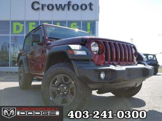 Used 2021 Jeep Wrangler SPORT AUTOMATIC 4X4 for sale in Calgary, AB