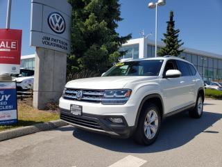 Used 2018 Volkswagen Atlas 3.6 FSI Comfortline 4MOTION for sale in Surrey, BC