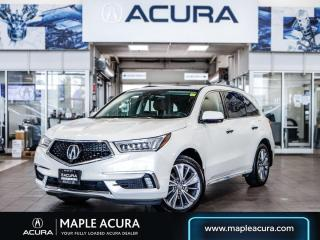 Used 2017 Acura MDX Elite Package, Brown interior, Acura Certified 7/1 for sale in Maple, ON