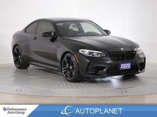 Used 2020 BMW M2 Competition, Navi, Sunroof, Memory Seat, 405 HP! for sale in Brampton, ON