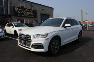 Used 2018 Audi Q5 TECHNIK/S-LINE/APPLE CAR PLAY/360CAM/NAVI/DIGITAL DASH for sale in Newmarket, ON