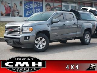 Used 2018 GMC Canyon SLE  CAM P/SEATS HTD-SEATS REM-START 17-AL for sale in St. Catharines, ON