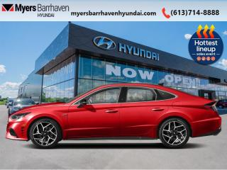 New 2021 Hyundai Sonata 2.5T N Line  - Sunroof -  Heated Seats - $236 B/W for sale in Nepean, ON