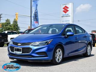 Used 2018 Chevrolet Cruze LT ~Heated Seats ~Power Seat ~Bluetooth ~Camera for sale in Barrie, ON
