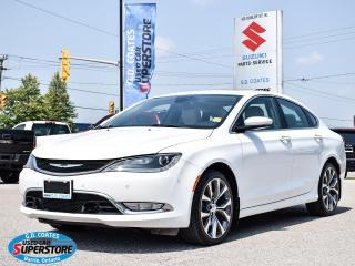 Used 2015 Chrysler 200 C AWD ~3.6L V6 ~Nav ~Cam ~Leather ~Panoramic Roof for sale in Barrie, ON