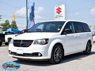 Used 2016 Dodge Grand Caravan SXT ~Nav ~Cam ~Bluetooth ~Rear Air ~Stow 'N Go for sale in Barrie, ON