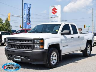 Used 2015 Chevrolet Silverado 1500 Doube Cab 4x4 ~5.3L V8 ~Trailer Tow Package for sale in Barrie, ON
