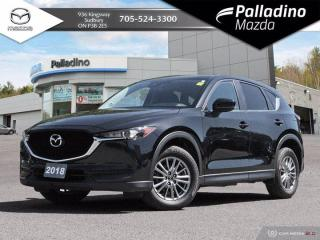 Used 2018 Mazda CX-5 GS - NO ACCIDENTS - POWER HATCH - LEATHER TRIMMED INTERIOR for sale in Sudbury, ON