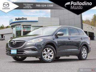 Used 2014 Mazda CX-9 GS - ONE OWNER - NO ACCIDENTS - 7 SEATER UNDER $13K for sale in Sudbury, ON