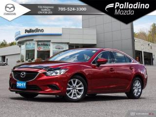Used 2017 Mazda MAZDA6 GS - ONE OWNER - NO ACCIDENTS - VERY LOW KMS FOR YEAR for sale in Sudbury, ON