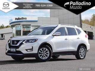 Used 2018 Nissan Rogue SV FWD - NO ACCIDENTS - FUEL EFFICIENT SUV for sale in Sudbury, ON