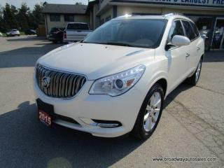 Used 2015 Buick Enclave ALL-WHEEL DRIVE PREMIUM-MODEL 7 PASSENGER 3.6L - V6.. CAPTAINS & 3RD ROW.. NAVIGATION.. LEATHER.. HEATED/AC SEATS.. DUAL SUNROOF.. BACK-UP CAMERA.. for sale in Bradford, ON