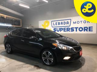 Used 2015 Kia Forte Sunroof * Back Up Camera * UVO link *Power Folding Mirrors * Remote Start *  Comfort/Eco/Sport Mode * Heated Cloth Seats *AM/FM/SXM/USB/Aux/Bluetooth for sale in Cambridge, ON