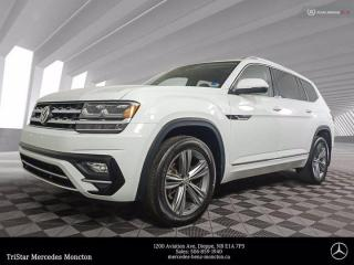 Used 2019 Volkswagen Atlas EXECLINE for sale in Dieppe, NB