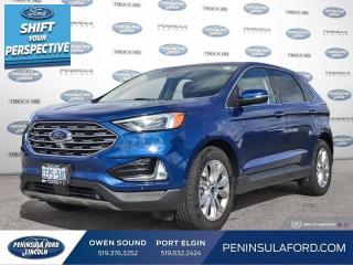 New 2021 Ford Edge Titanium - $280 B/W for sale in Port Elgin, ON