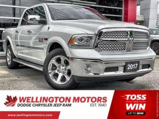 Used 2017 RAM 1500 Laramie | Eco-Diesel | Crew Cab | Warranty for sale in Guelph, ON