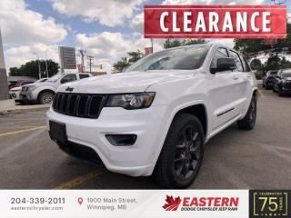 New 2021 Jeep Grand Cherokee 80th Anniversary Edition   Panoramic Sunroof   for sale in Winnipeg, MB