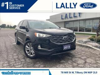 Used 2019 Ford Edge TitaniumAWD, Loaded, One Owner!! for sale in Tilbury, ON