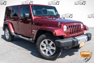 Used 2012 Jeep Wrangler Unlimited Sahara SOLD AS TRADED, YOU CERTIFY, YOU SAVE!!! for sale in Barrie, ON