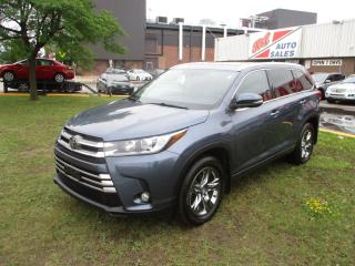 Used 2017 Toyota Highlander Limited ~ JBL ~ 360 CAMERAS ~ NAV ~ PANORAMIC ROOF for sale in Toronto, ON
