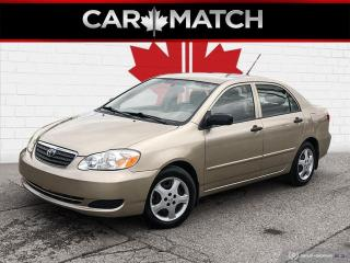 Used 2005 Toyota Corolla CE / AUTO / AC / ONLY 122,321 KM for sale in Cambridge, ON