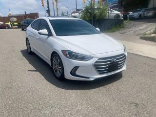 Used 2017 Hyundai Elantra GLS/AUTO/NOACCIDENT/SUNR/CAM/HTDSEATS/CERTIFIED for sale in Toronto, ON