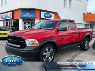 Used 2012 RAM 1500 ST OUTDOORSMAN/LOW, LOW KMS/PRICED-QUICK SALE ! for sale in Brantford, ON