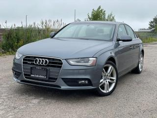 Used 2014 Audi A4 Technik|AWD|Navi|Camera|One owner|Clean Carfax| for sale in Bolton, ON