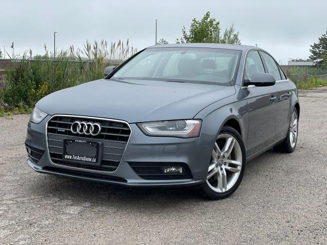 2014 Audi A4 Technik|AWD|Navi|Camera|One owner|Clean Carfax|