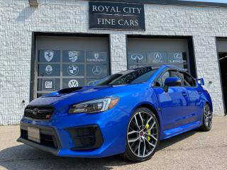 Used 2020 Subaru WRX STI Sport-Tech/ World Rally Blue/ Clean Carfax for sale in Guelph, ON