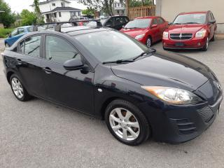 Used 2010 Mazda MAZDA3 GS, MANUAL, POWER SUNROOF, POWER GROUP for sale in Ottawa, ON